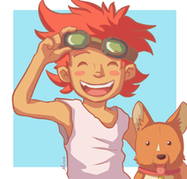Ed and Ein by Marcos-A-Rodrigues