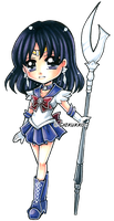 Sailor Saturn by Chikukko