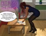 Pet bugs cannot attend the party by Rometheus