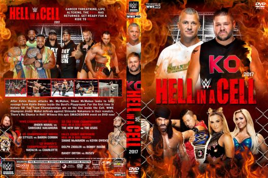 WWE Hell in a Cell 2017 DVD Cover by Chirantha