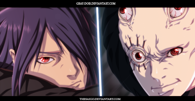 Naruto Gaiden 5 Sasuke VS The Unknown Uchiha by Gray-Dous
