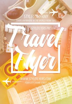 Travel-flyer by Styleflyers