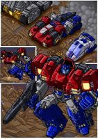 War Within Optimus Prime by danbrenus