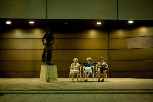 Grannies night out by gubancc