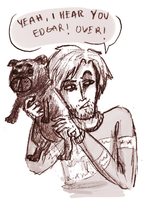 Pewds and Edgar by AnythingPrince