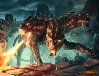 Monstrous - Cerberus by JarrodOwen