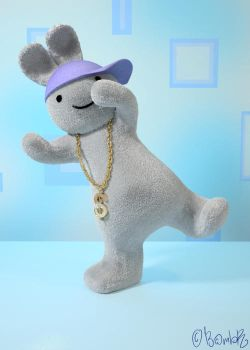 Funny Bunnies - B-Boy by Bambr