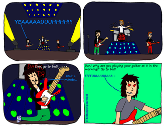 Dan Comics No.24 - Rocking Out by The-Happy-Spaceman