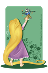 Rapunzel by macurris