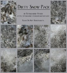 Dirty Snow Pack by fetishfaerie-stock