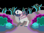 Absol - Darkness Ridge by ikarichan
