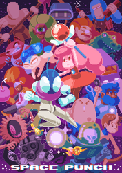 Day 22? - Space Punch poster by bbrunomoraes