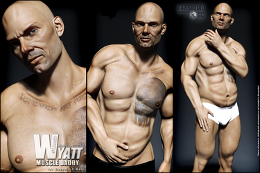 Muscle Daddy - Wyatt for Genesis 8 Male - OUT NOW by Kaos3d