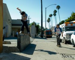 Jessie Alba- Backside boarslide by Nova51Photography