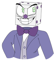 King Dice doodle by winkydinx2-0
