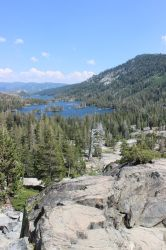 Summer Scenes: Echo Lake CA by Qrinta