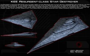 Resurgent-Class Star Destroyer ortho [New] by unusualsuspex