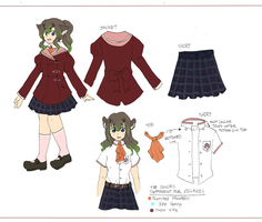 PKM: School Uniform Contest 1 by DingDingy