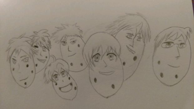 Ouran High School Potato Club by TheHonestSpacePotato