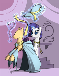 Rarity in her Element. by Dreatos