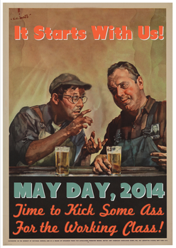 May Day, 2014 by poasterchild