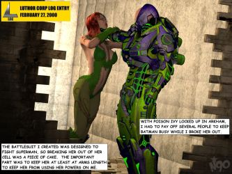 Luthor's Log Entry #3 by MndlessEntertainment