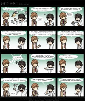 Death Note: A Different Case. by SilentReaper