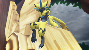 Zeraora (Pokemon U Sun and Moon) Now with Shiny by GuilTronPrime
