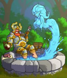 Taunting Water Elemental (with video) by LucidARTDVC