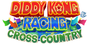 Logo Design - Diddy Kong Racing Sequel What-if by Blue-Paint-Sea