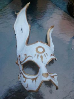 BioShock Rabbit Mask Work in Progress2 by Skinz-N-Hydez