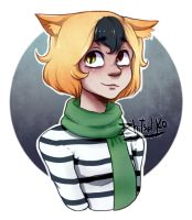 Art Trade -Nya La Empanada- by zhitsel-ko