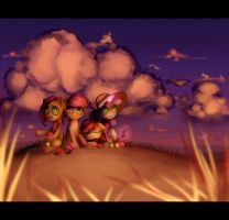 Sunset crusaders by VardasTouch