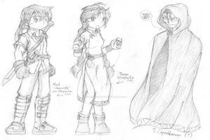 Mark's Quest -- Character Design by foresteronly