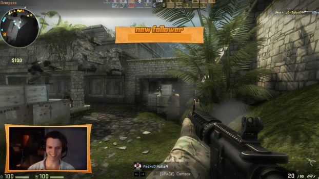 Twitch.TV Project Orange streaming overlay by ItsMeSwitch