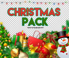 #Christmas Pack by DontGiveMeRainbows