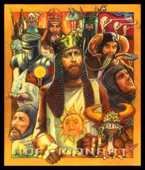 Monty Python: the Holy Grail by Flying-Circus