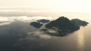 Lost Island by Hexalyse