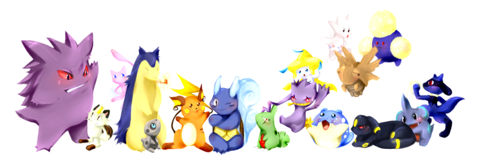 Ultimate Pokemon Roster by DemandinCompensation