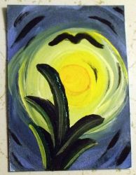 Starry Night ACEO by mintdawn