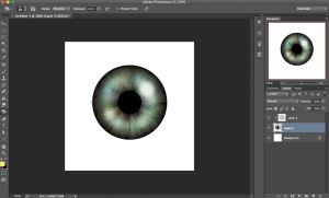 How To Make A Realistic Iris On Photoshop by itaXita