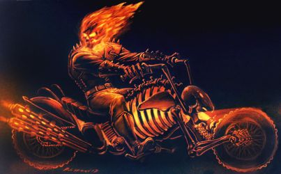 Ghost Rider by PitBOTTOM