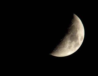 waxing moon by Lucy-Redgrave