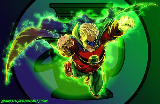 Golden Age Green Lantern by Ammotu