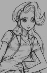 Starlight Glimmer Sketch by imDRUNKonTEA
