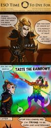 ESO Time: To Dye For by SlayerSyrena