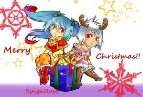 Merry Christmas! by SpigaRose