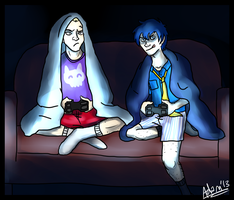 games and blankets by KingAdam