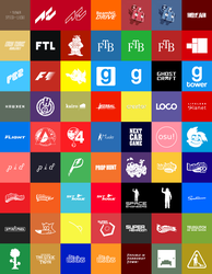Metro Style Game Icons by kuenzign