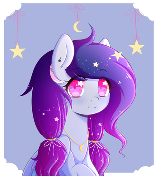 Starry Bab {C} by FluffyMaiden
